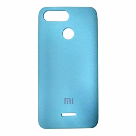 Чехол-накладка Xiaomi Redmi 6 Original Soft turquoise