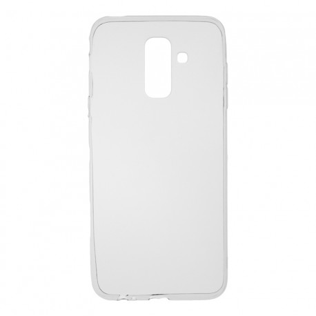 Чехол-накладка Samsung J8-2018 TPU Transparent