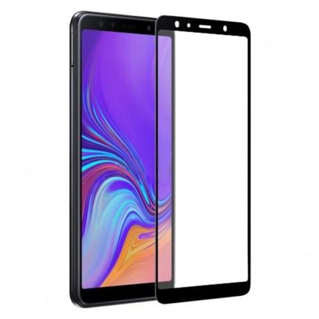 Защитное стекло Samsung A750 3D Black
