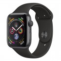 Apple Watch 40mm Series 4 Black Sport Band Space Grey Alluminium MU662