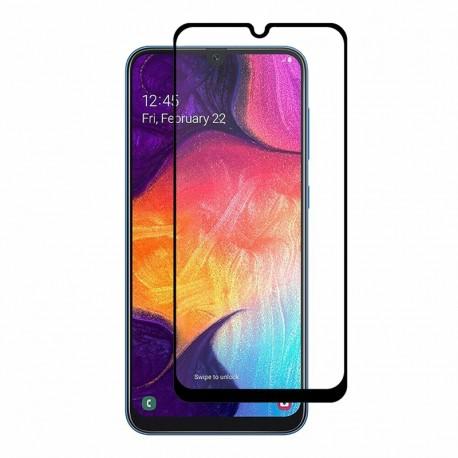 Защитное стекло Samsung A30 Full Screen Black 5D