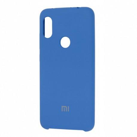 Чехол-накладка Xiaomi Redmi 7 Silicone Cover (blue)