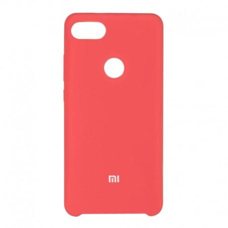 Чехол-накладка Xiaomi Redmi 6 Original Soft rose red