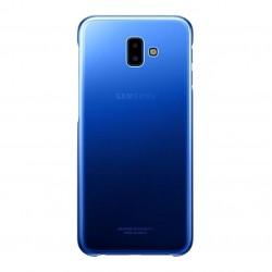Чехол-накладка Samsung J6+ (J610) Gradiation Cover EF-AJ610CLEGRU Blue