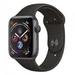 Apple Watch 40mm Series 4 Black Sport Band Space Grey Alluminium MU662 US