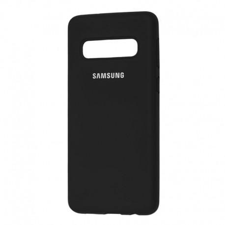 Чехол-накладка Samsung Galaxy S10 Plus Original Soft Case Black