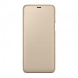 Чехол- книжка Samsung А605 (А6+) EF-WA605CFEGRU Gold