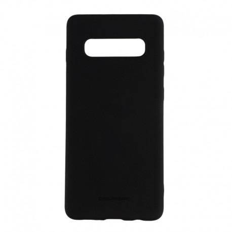 Чохол-накладка Samsung Galaxy S10 Original Soft Case Black