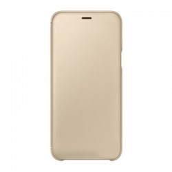 Чехол-книжка Samsung А600 (А6) EF-WA600CFEGRU Gold