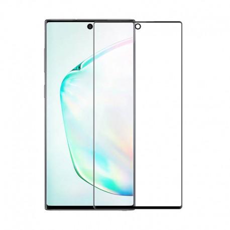 Защитное стекло Samsung Galaxy Note 10 Slim Clear Full Glue + Lamp