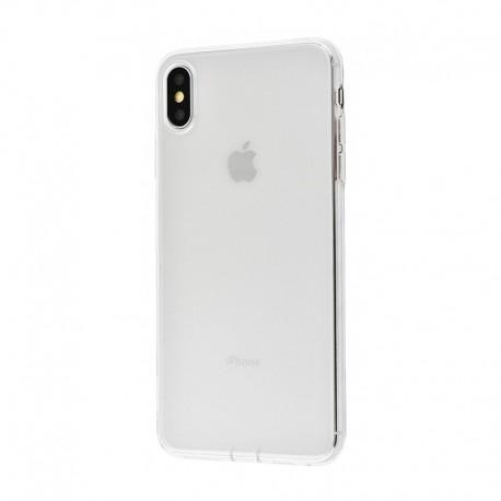 Чехол-накладка iPhone Xs Max Baseus Simplicity Series With Pluggy (TPU) (transparent)