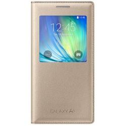 Чехол-книжка Samsung Galaxy A7 A700H EF-CA700BFEGRU Gold (оригинал)