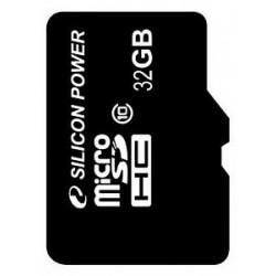 SiliconPower microSD 32Gb (Class 10)