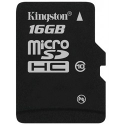 SiliconPower microSD 16Gb (Class 10)