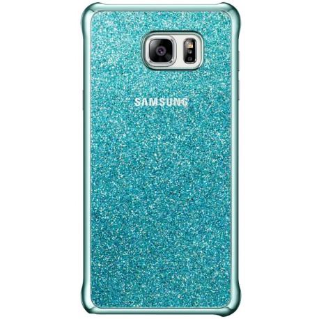 Чехол-накладка Samsung Note 5 EF-XN920CLEGRU Glitter Cover Blue