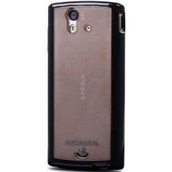 Чехол-накладка Sony Ericsson Xperia Ray ST18i Momax i-Case Pro Black/Black