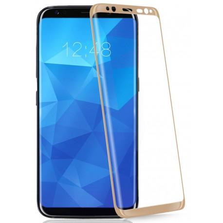 Защитное стекло Samsung S8 G950 Full Screen Glass Gold