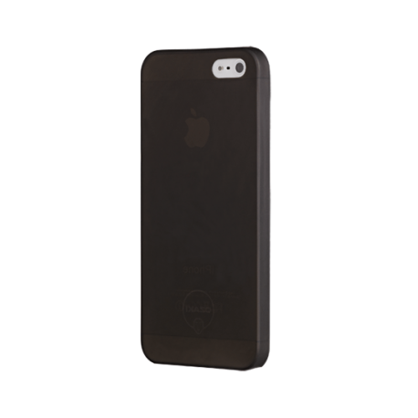 Чехол-накладка+пленка iPhone 5S/SE Ozaki O!coat 0.3 Jelly Black