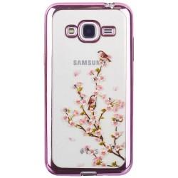 Чехол-накладка Xiaomi Redmi 4X TPU Remax Osaka Sakura Blossom (Pink)