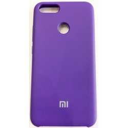 Чехол-накладка Xiaomi A1/5X Soft Touch фиолетовый
