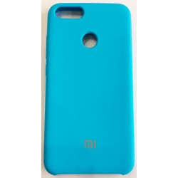 Чехол-накладка Xiaomi A1/5X Soft Touch голубой