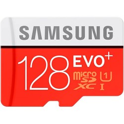 Карта памяти Samsung 128GB microSDXC C10 UHS-I R80/W20MB/s Evo P