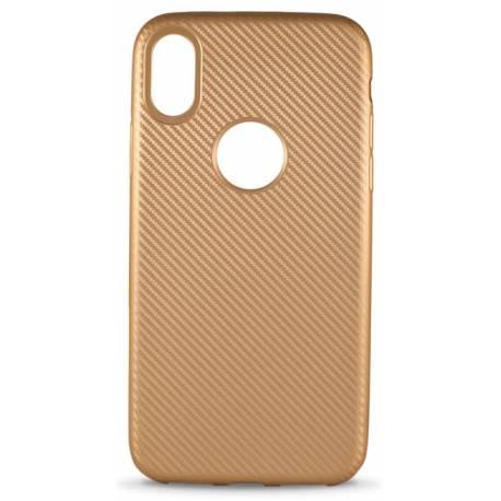 Чехол-накладка iPhone X MiaMI Ace Gold