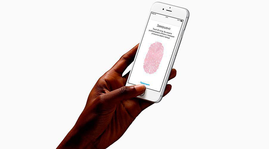 apple iphone 6s сканер отпечатков пальцев
