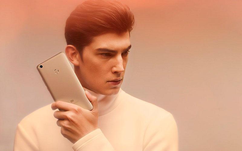 xiaomi mi max 2 задняя панель смартфона
